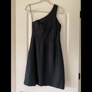 JCrew Silk One Shoulder Dress